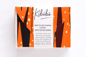 Pack of 6 Cards With Envelopes Orange