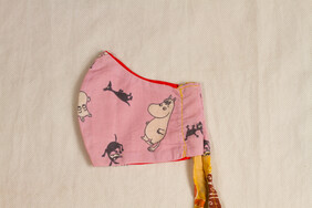 Moomin print Kids' Face Mask