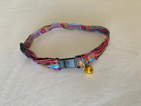 Pink and Blue Pet Collar