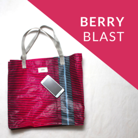 Berry Blast Shopping Bag