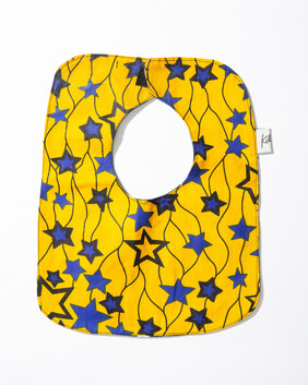 Bib Yellow Stars