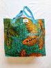 Orange Leaf Shopping Bag